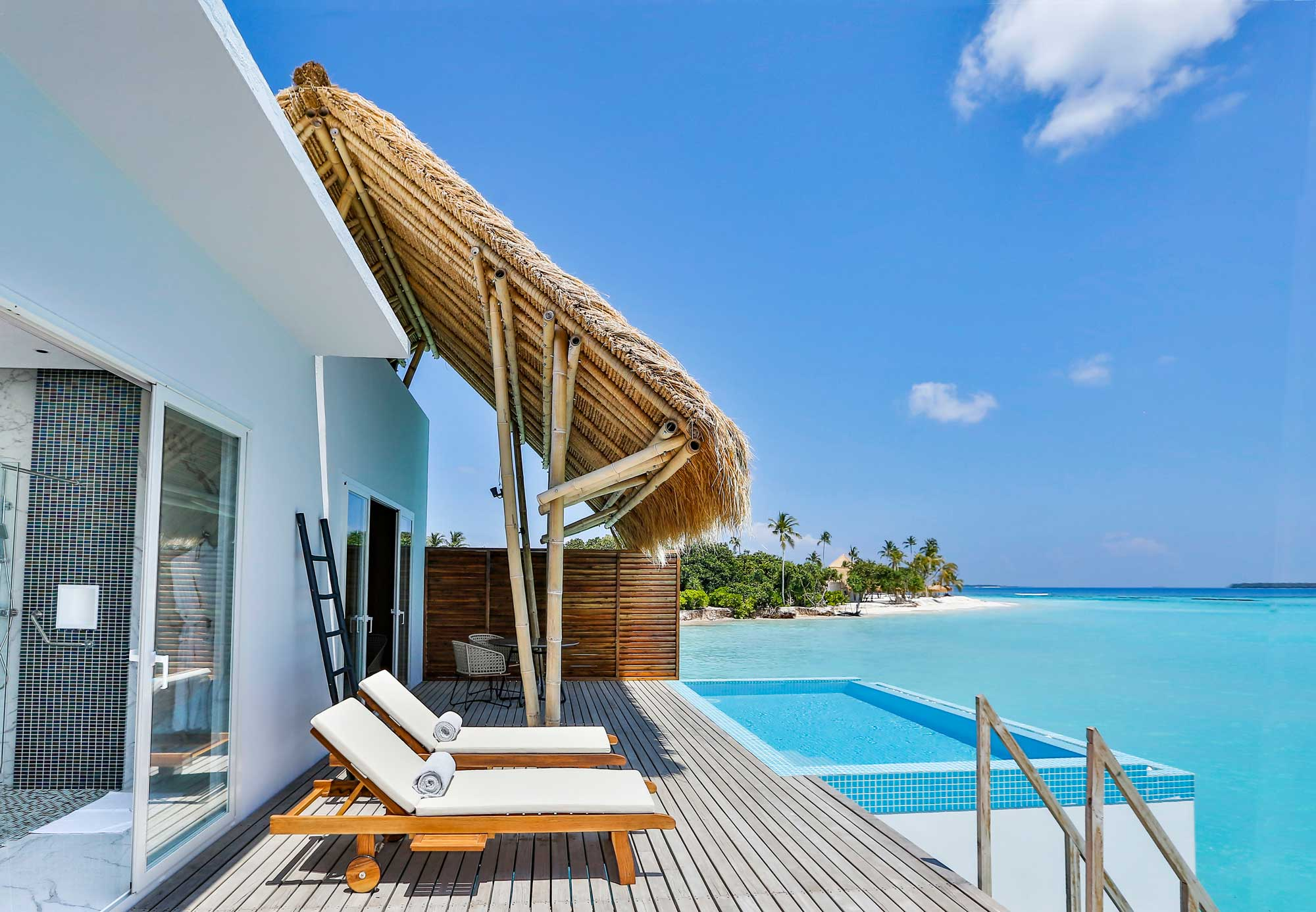 4 Nights Water Villa  Deluxe All Inclusive Package