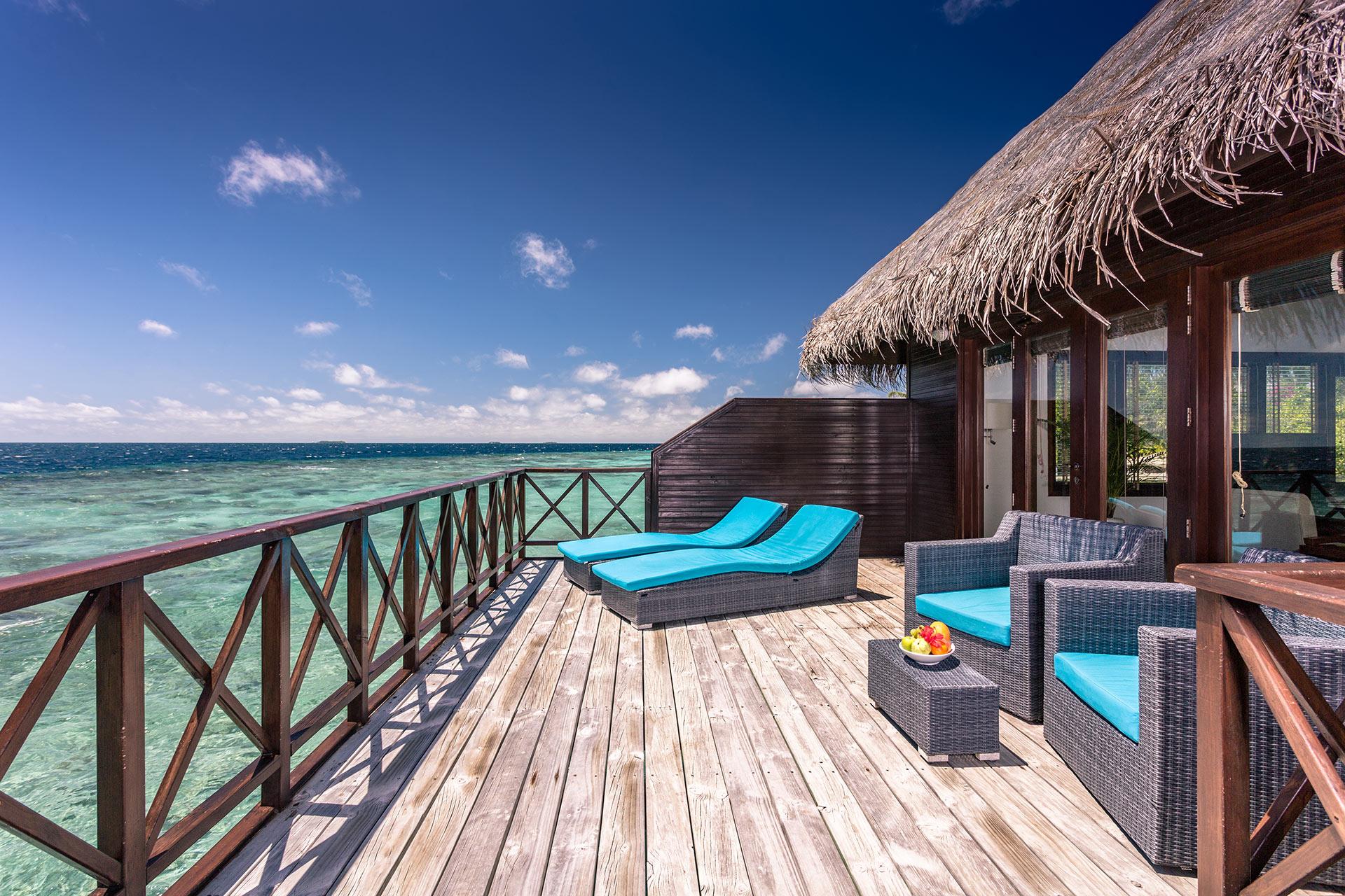 04 Night Stay in Water Villa on Full Board